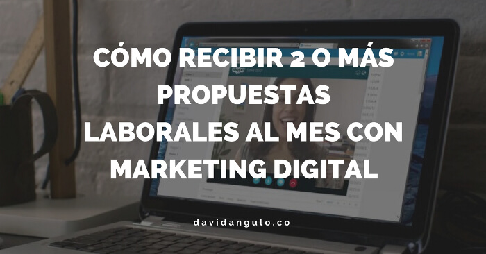 Marca personal y marketing de atraccion con marketing digital