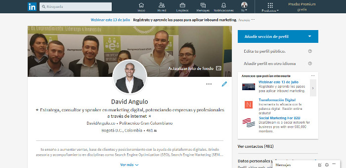 linkedin marketing digital