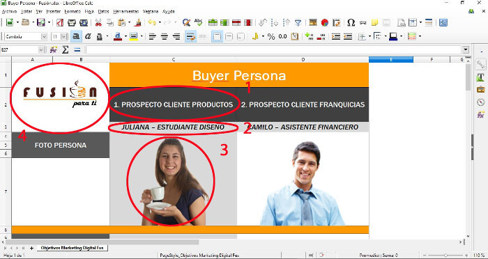 Creando un perfil de cliente ideal - buyer persona 1